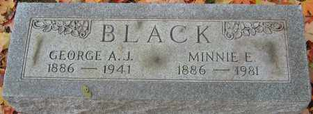 BLACK, MINNIE E - Franklin County, Ohio | MINNIE E BLACK - Ohio Gravestone Photos