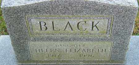 BLACK, HELEN - Franklin County, Ohio | HELEN BLACK - Ohio Gravestone Photos