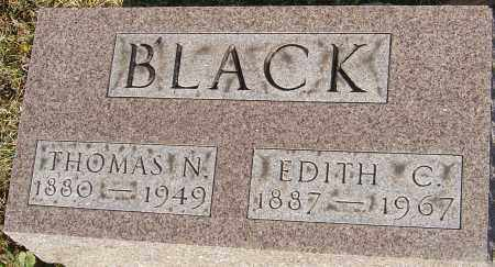 BLACK, EDITH - Franklin County, Ohio | EDITH BLACK - Ohio Gravestone Photos