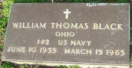 BLACK, WILLIAM THOMAS - Franklin County, Ohio | WILLIAM THOMAS BLACK - Ohio Gravestone Photos
