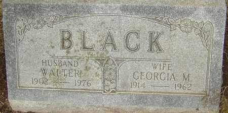 BLACK, GEORGIA M - Franklin County, Ohio | GEORGIA M BLACK - Ohio Gravestone Photos