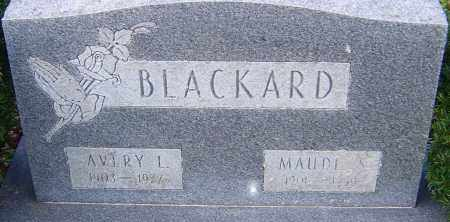 BLACKARD, AVERY - Franklin County, Ohio | AVERY BLACKARD - Ohio Gravestone Photos