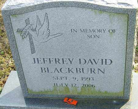 BLACKBURN, JEFFREY DAVID - Franklin County, Ohio | JEFFREY DAVID BLACKBURN - Ohio Gravestone Photos