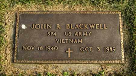 BLACKWELL, JOHN R. - Franklin County, Ohio | JOHN R. BLACKWELL - Ohio Gravestone Photos