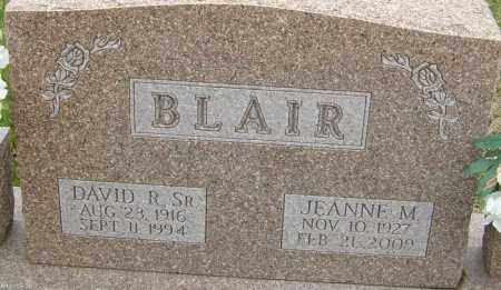 BLAIR SR., DAVID R - Franklin County, Ohio | DAVID R BLAIR SR. - Ohio Gravestone Photos