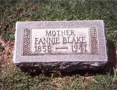 BLAKE, FANNIE - Franklin County, Ohio | FANNIE BLAKE - Ohio Gravestone Photos