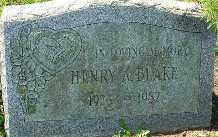 BLAKE, HENRY A - Franklin County, Ohio | HENRY A BLAKE - Ohio Gravestone Photos