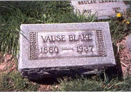 BLAKE, JOHN VAUSE - Franklin County, Ohio | JOHN VAUSE BLAKE - Ohio Gravestone Photos
