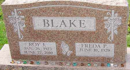 BLAKE, ROY J - Franklin County, Ohio | ROY J BLAKE - Ohio Gravestone Photos