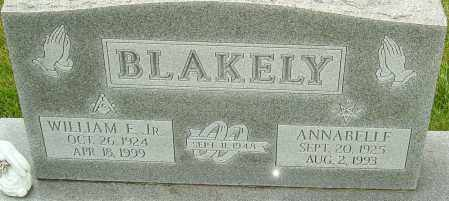 BLAKELY JR, WILLIAM F - Franklin County, Ohio | WILLIAM F BLAKELY JR - Ohio Gravestone Photos