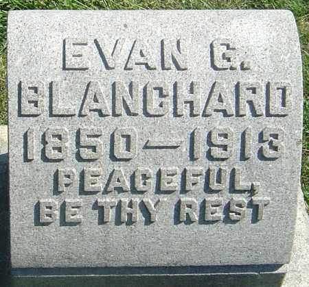 BLANCHARD, EVAN GABRIEL - Franklin County, Ohio | EVAN GABRIEL BLANCHARD - Ohio Gravestone Photos