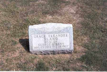 BLAND, GRACE ELEANORE - Franklin County, Ohio | GRACE ELEANORE BLAND - Ohio Gravestone Photos