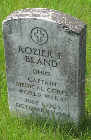BLAND, ROZIER E. - Franklin County, Ohio | ROZIER E. BLAND - Ohio Gravestone Photos