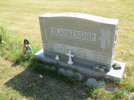 BLANKENSHIP, MARY JONES - Franklin County, Ohio | MARY JONES BLANKENSHIP - Ohio Gravestone Photos