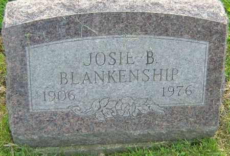 BLANKENSHIP, JOSIE B - Franklin County, Ohio | JOSIE B BLANKENSHIP - Ohio Gravestone Photos