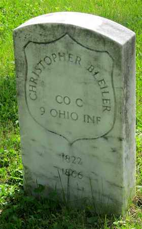 BLEILER, CHRISTOPHER - Franklin County, Ohio | CHRISTOPHER BLEILER - Ohio Gravestone Photos