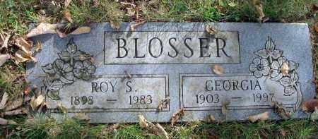 BLOSSER, GEORGIA - Franklin County, Ohio | GEORGIA BLOSSER - Ohio Gravestone Photos
