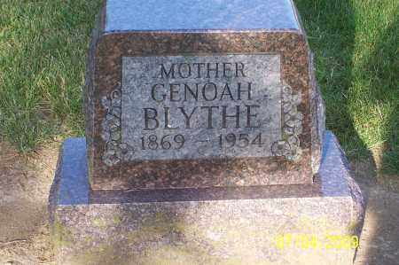 CASTEEL BLYTHE, GENOAH - Franklin County, Ohio | GENOAH CASTEEL BLYTHE - Ohio Gravestone Photos
