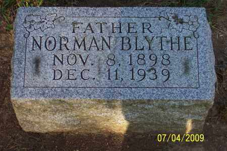 BLYTHE, NORMAN - Franklin County, Ohio | NORMAN BLYTHE - Ohio Gravestone Photos