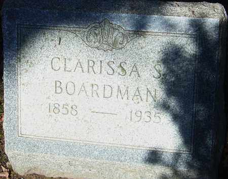 BOARDMAN, CLARISSA S - Franklin County, Ohio | CLARISSA S BOARDMAN - Ohio Gravestone Photos