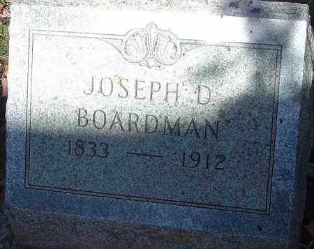 BOARDMAN, JOSEPH D - Franklin County, Ohio | JOSEPH D BOARDMAN - Ohio Gravestone Photos