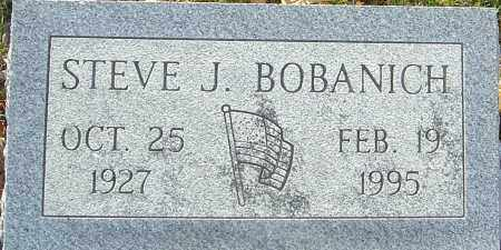 BOBANICH, STEVE J - Franklin County, Ohio | STEVE J BOBANICH - Ohio Gravestone Photos