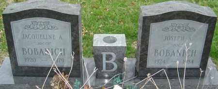 BOBANICH, JACQUELINE A - Franklin County, Ohio | JACQUELINE A BOBANICH - Ohio Gravestone Photos