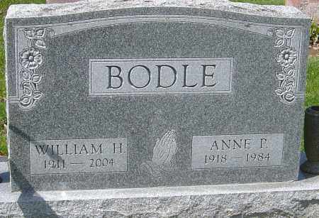 BODLE, ANNE P - Franklin County, Ohio | ANNE P BODLE - Ohio Gravestone Photos