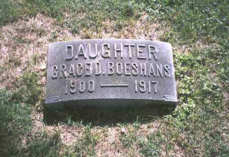 BOESHANS, GRACE D. - Franklin County, Ohio | GRACE D. BOESHANS - Ohio Gravestone Photos