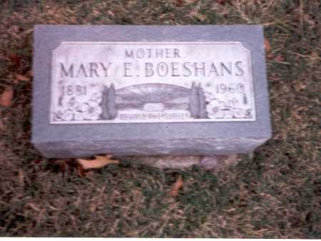 CAMPBELL BOESHANS, MARY E. - Franklin County, Ohio | MARY E. CAMPBELL BOESHANS - Ohio Gravestone Photos