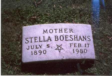 PAUSCH BOESHANS, STELLA - Franklin County, Ohio | STELLA PAUSCH BOESHANS - Ohio Gravestone Photos