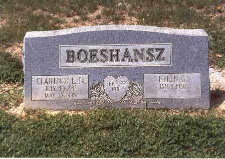 BOESHANSZ, HELEN G. - Franklin County, Ohio | HELEN G. BOESHANSZ - Ohio Gravestone Photos