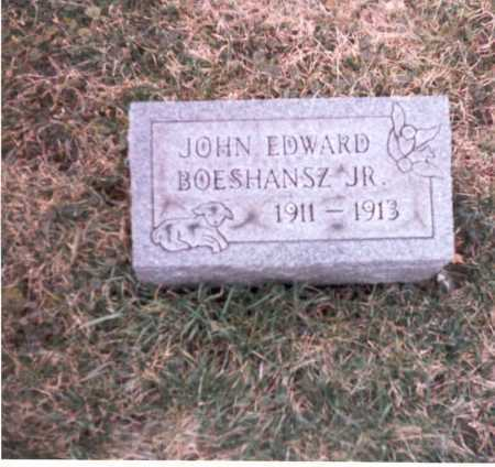 BOESHANSZ, JR, JOHN EDWARD - Franklin County, Ohio | JOHN EDWARD BOESHANSZ, JR - Ohio Gravestone Photos