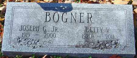 BOGNER, BETTY V - Franklin County, Ohio | BETTY V BOGNER - Ohio Gravestone Photos