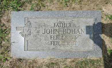 BOHAN, JOHN - Franklin County, Ohio | JOHN BOHAN - Ohio Gravestone Photos
