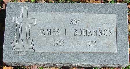 BOHANNON, JAMES L - Franklin County, Ohio | JAMES L BOHANNON - Ohio Gravestone Photos