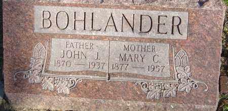 BOHLANDER, JOHN H - Franklin County, Ohio | JOHN H BOHLANDER - Ohio Gravestone Photos