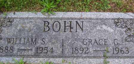 BOHN, WILLIAM S. - Franklin County, Ohio | WILLIAM S. BOHN - Ohio Gravestone Photos