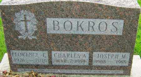 BOKROS, JOSEPH M - Franklin County, Ohio | JOSEPH M BOKROS - Ohio Gravestone Photos