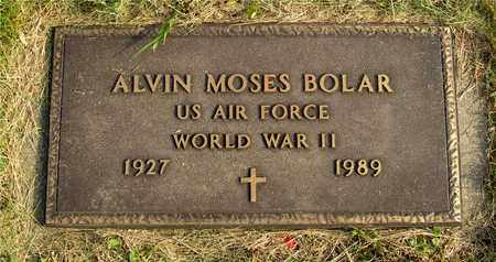 BOLAR, ALVIN MOSES - Franklin County, Ohio | ALVIN MOSES BOLAR - Ohio Gravestone Photos