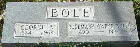 BOLE, ROSEMARY - Franklin County, Ohio | ROSEMARY BOLE - Ohio Gravestone Photos