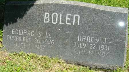 BOLEN, EDWARD S - Franklin County, Ohio | EDWARD S BOLEN - Ohio Gravestone Photos