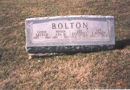 BOLTON, KENNETH L. - Franklin County, Ohio | KENNETH L. BOLTON - Ohio Gravestone Photos