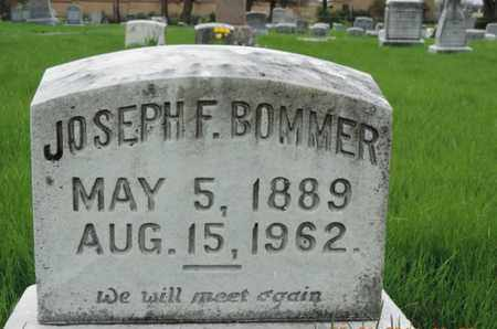 BOMMER, JOSEPH F. - Franklin County, Ohio | JOSEPH F. BOMMER - Ohio Gravestone Photos