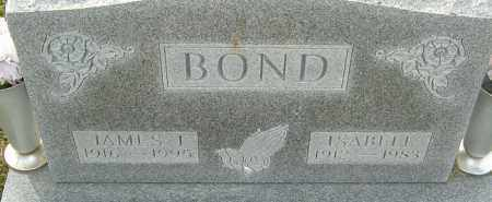 BOND, ISABELL - Franklin County, Ohio | ISABELL BOND - Ohio Gravestone Photos