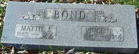 BOND, MATTIE I - Franklin County, Ohio | MATTIE I BOND - Ohio Gravestone Photos