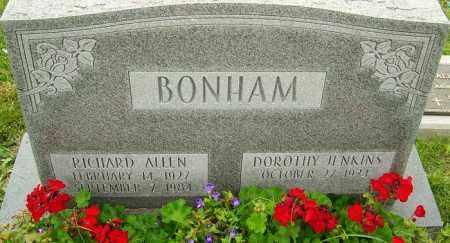 BONHAM, RICHARD ALLEN - Franklin County, Ohio | RICHARD ALLEN BONHAM - Ohio Gravestone Photos