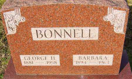 BONNELL, BARBARA - Franklin County, Ohio | BARBARA BONNELL - Ohio Gravestone Photos