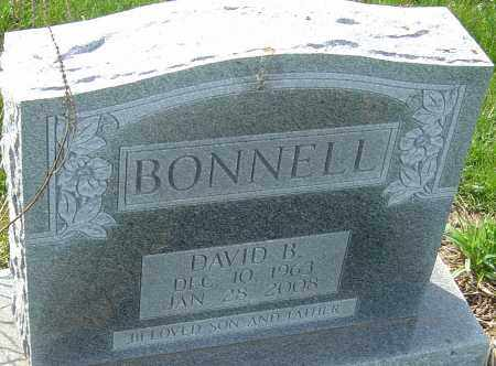 BONNELL, DAVID B - Franklin County, Ohio | DAVID B BONNELL - Ohio Gravestone Photos