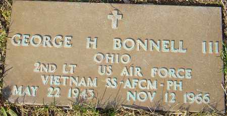 BONNELL, GEORGE H - Franklin County, Ohio | GEORGE H BONNELL - Ohio Gravestone Photos
